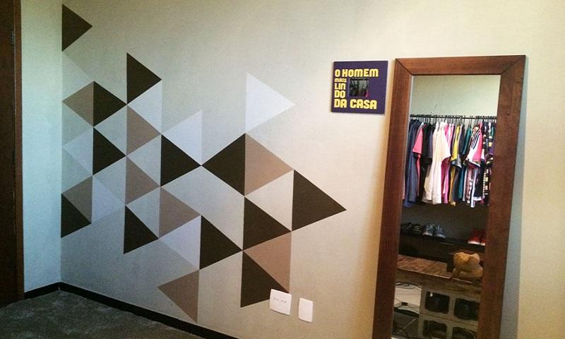 Dicas para fazer pintura geométricas