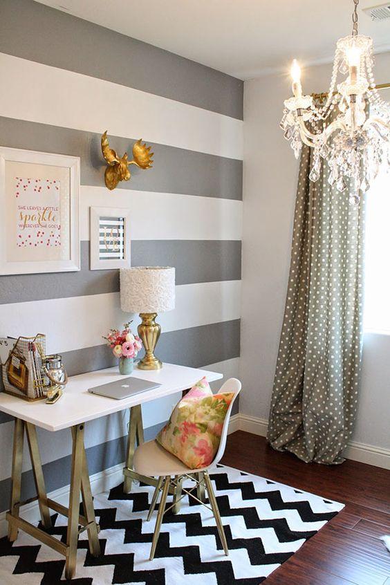 Dicas para pintura listrada nas paredes